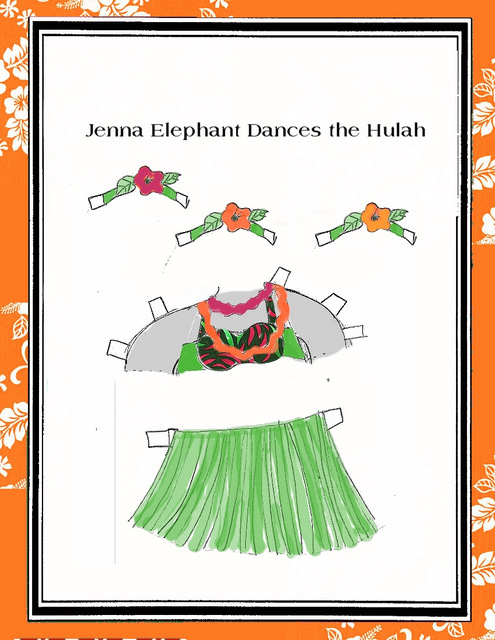 Jenna the Jubilant Elephant Dances the Hulah
