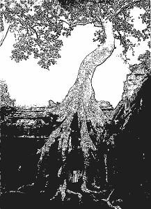 stencil_b&w_ta_prohm_angkor_2000