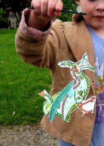 Dragon Flier Toy